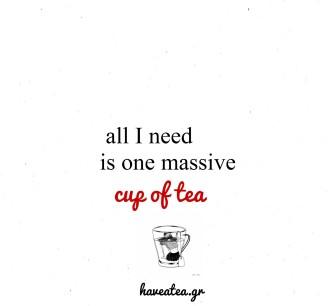 tea=need